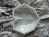 Siliconen 3D hartvorm groot mold breakable heart met hamer mal bakvorm voor chocolade, desserts, cake, zeep, kaarsen - magnum mold - magnum bakvorm - cakebox