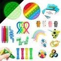 ZTWK© - Fidget toys pakket - 30 stuks - Mesh and Marble - Tangle fidget