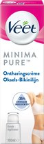 Veet Ontharingscreme - Bikinilijn & Oksels - Gevoelige Huid - Minima - 100ml