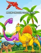 Amazing Dinosaur Coloring Book