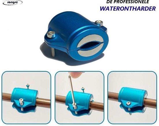 Aanbieding! Magnetische Waterontharder - Professionele  Waterontharder magneet - Waterontkalker waterleiding - Blauw - Anti Kalk