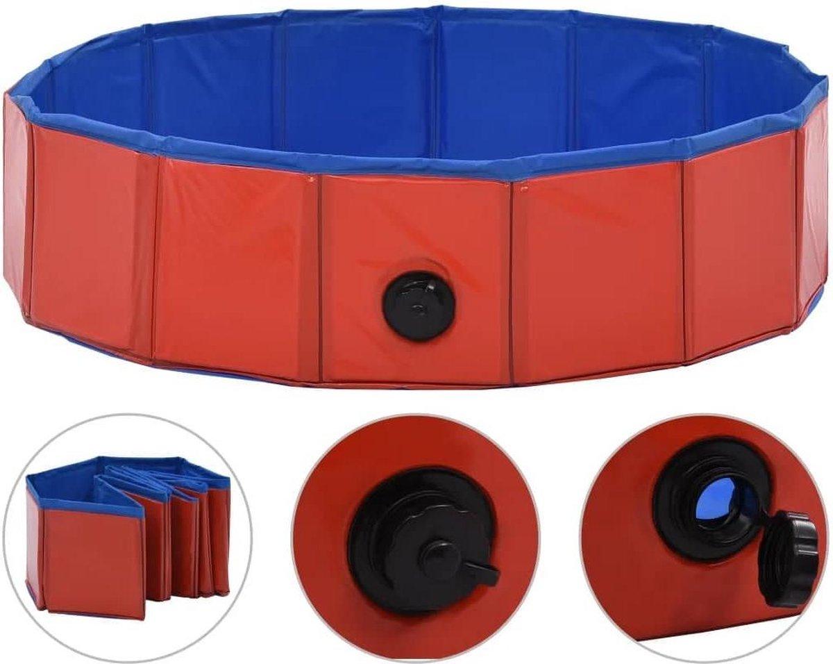 Dog Pool - Zwembad voor Huisdieren - Hondenzwembad - Bad voor Honden - Opzetzwembad - 80CM x 30CM - Diverse Kleuren