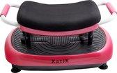 XatiX - Trilplaat Rose - Roos - Trilplaat fitness - Powerplate - Incl stretchbands - 99 standen
