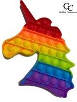 Pop It XXL - Regenboog Eenhoorn - 17,5 cm - Unicorn Rainbow