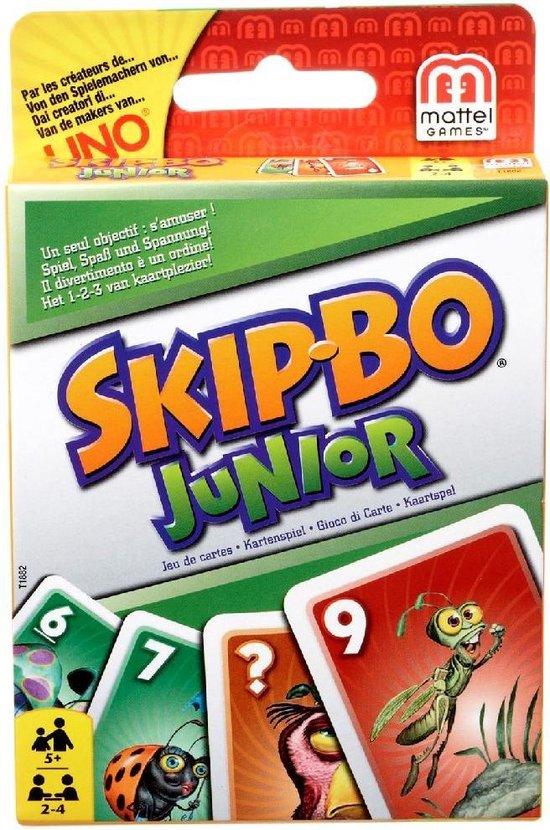 Skip Bo Junior - Kaartspel