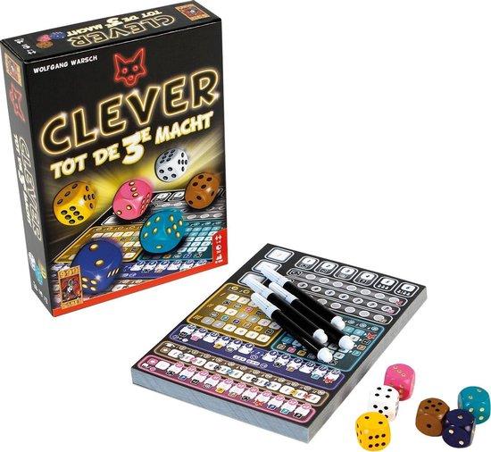 Spel - Dobbelspel - Clever tot de 3e macht