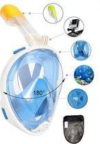 Pro-Care Full Face Snorkelmasker - Met GoPro Bevestiging - 180 Graden Zicht - Duikmasker - Duikbril - Universal Fit Size XL