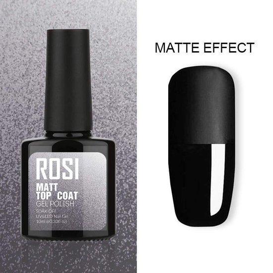 ROSI - Matte Top coat nagellak - Gel nagellak - UV gellak - Matte Topcoat