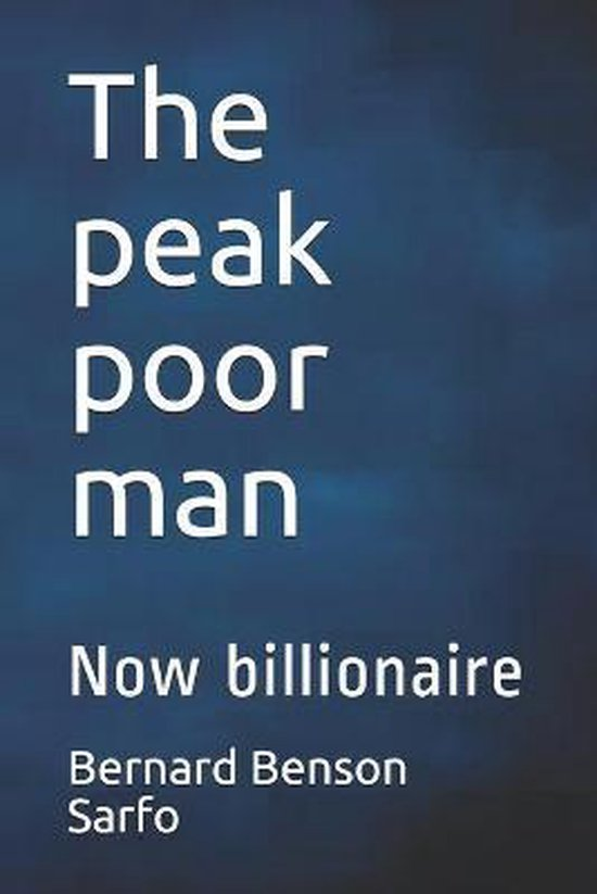 The peak poor man