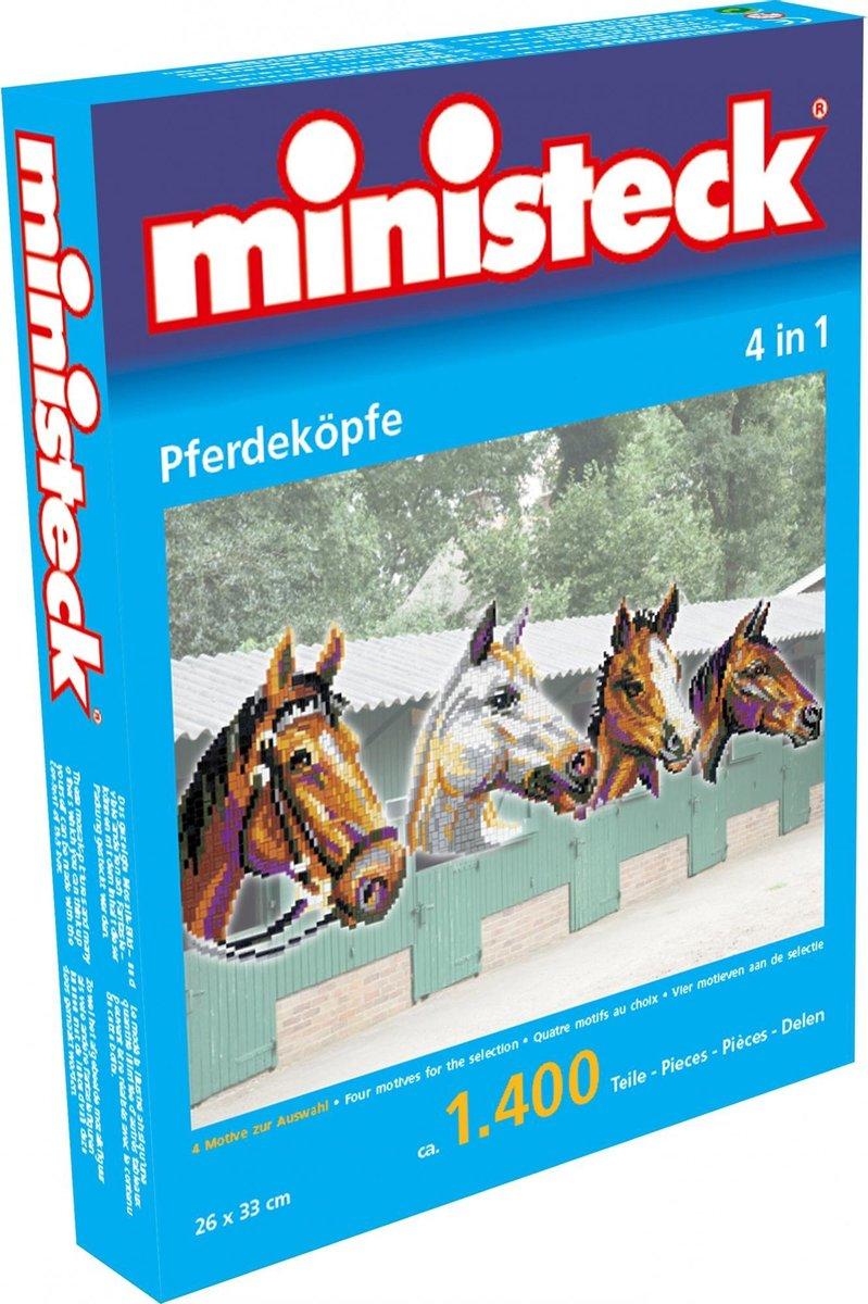 Ministeck 4-In-1 Paardenhoofden