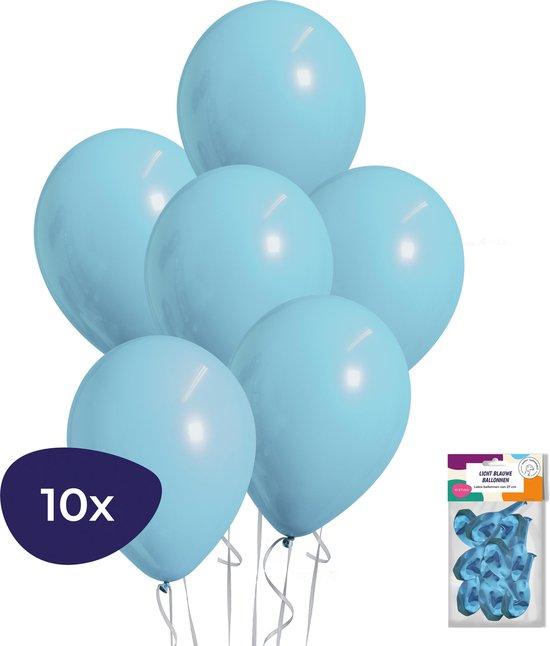 Blauwe Ballonnen - Geboorte Versiering Jongen - Babyshower Versiering - Helium Ballonnen - 10 stuks