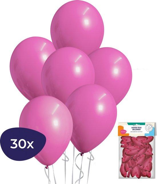 Fuchsia Ballonnen – Roze Ballonnen - 30 stuks - Verjaardag