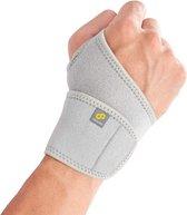 Bracoo WS10 Polsbandage Polsbrace - verstelbare neopreen band - wrist support - grijs