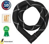 ABUS Iven Chain 8210 Kettingslot - ART2 - 85 cm - Zwart