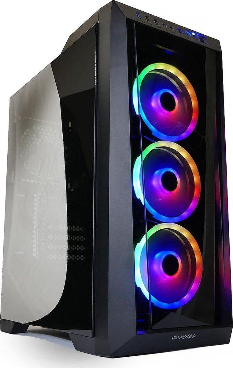 Intel i9 9900K - RGB Game/Streaming PC - RTX 3060 - 1TB M2.0 SSD - 32GB RAM - Gamdias - Win10 Pro