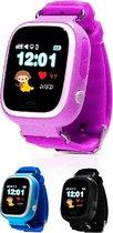 Kinder Smartwatch Met GPS met Simkaart - GPS & WIFI Met Belfunctie - Roze -...