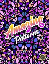 Amazing Patterns Adult Coloring Book