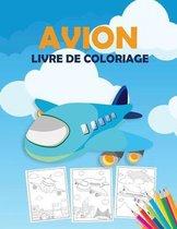 Avion Livre de Coloriage