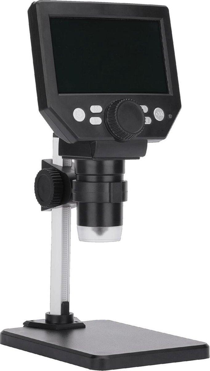 Microscoop digitaal tot 1000 keer vergroting 11 centimeter scherm