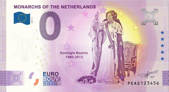 Afbeelding van het spel 0 Euro Biljet 2020 - Vorsten van Nederland - Koningin Beatrix