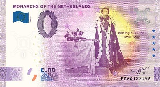 Afbeelding van het spel 0 Euro Biljet 2020 - Vorsten van Nederland - Koningin Juliana