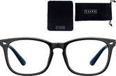 VAIVE Computerbril - Blauw Licht Bril - Blue Light Glasses - Zwart