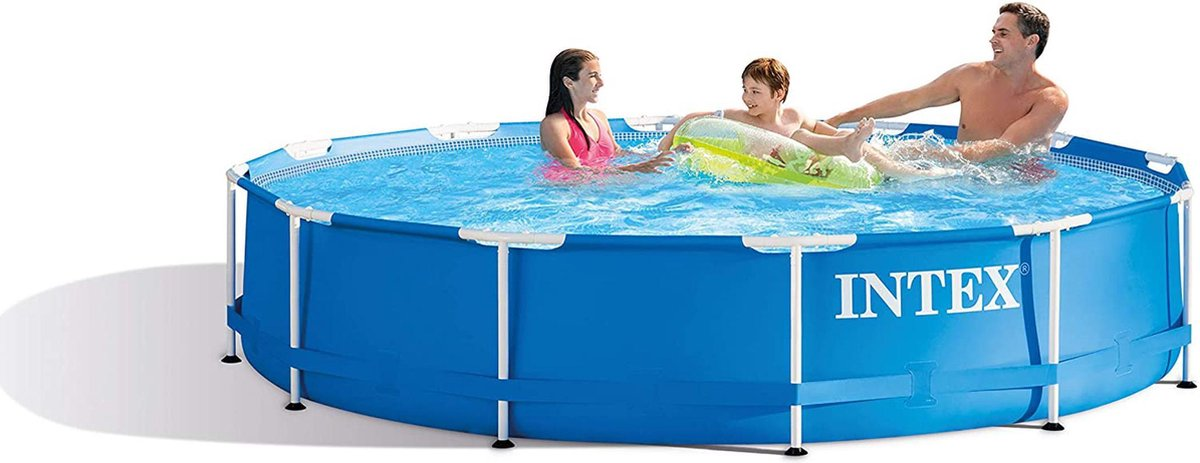 Intex Metal Frame Pool - bovengronds zwembad - Ø 366 x 76 cm