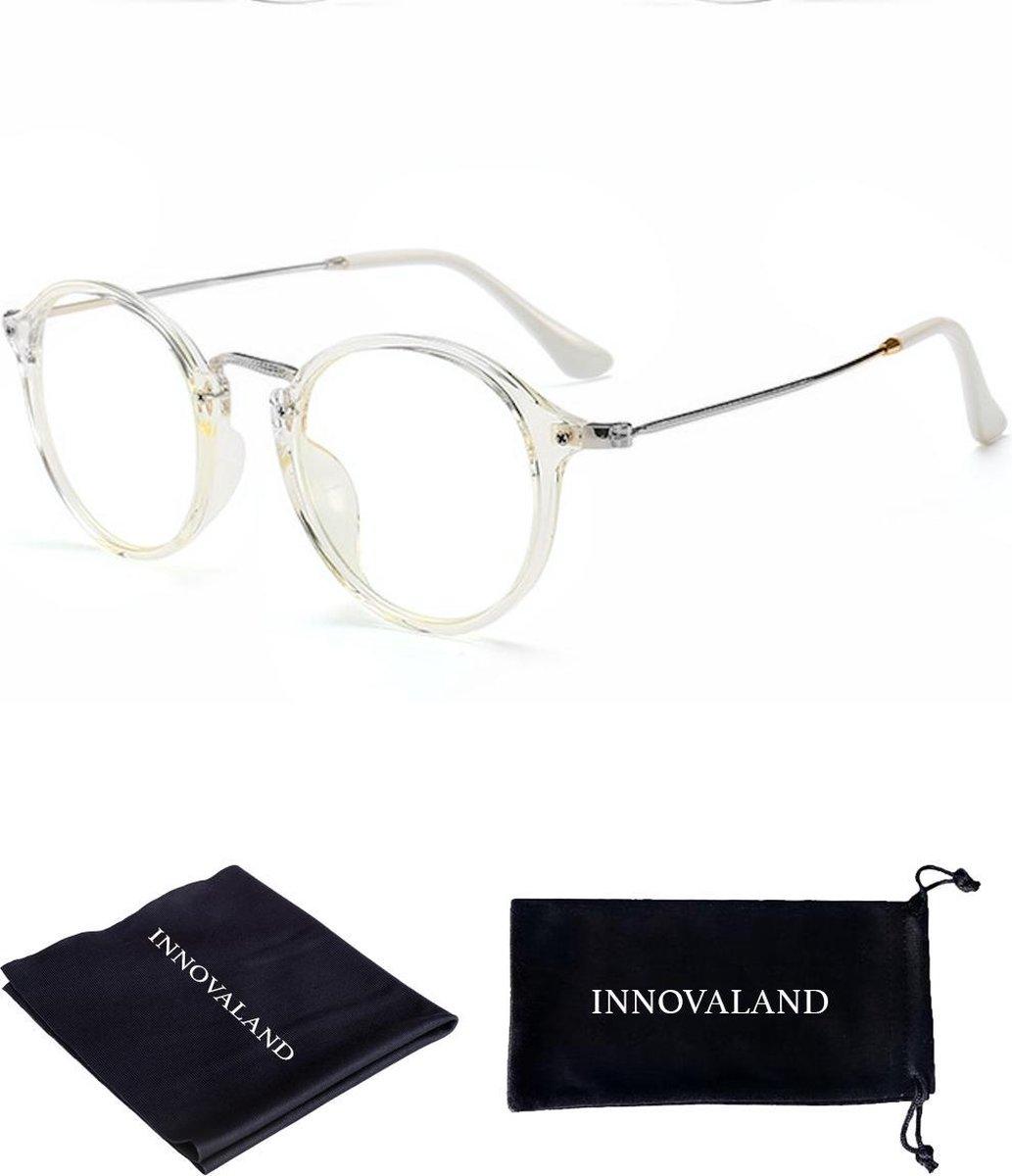 Innovaland Computerbril Premium - Blauw Licht bril - Beeldschermbril - Blue Light Glasses - Blauw Li