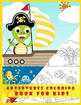 adventures coloring book for kids