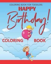 Birthday Coloring Book