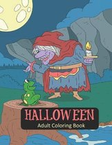Halloween Adult Coloring Book
