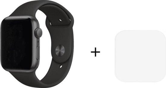 Royal Supplies RF-93 Smartwatch-Smartwatch Dames-Smartwatch Stappenteller-Vierkant- Sport horloge -Smartwatch Heren-Smartwatch Kinderen- Activity Tracker-Bloeddrukmeter-Hartslagmeter -Afstandmeter -Calorieënteller -Fitness Tracker-Zuurstofmeter-Zwart