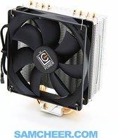 Intel & AMD CPU Processor Koeler 120 mm Fan - 4 Koperen Heatpipe TDP 180W