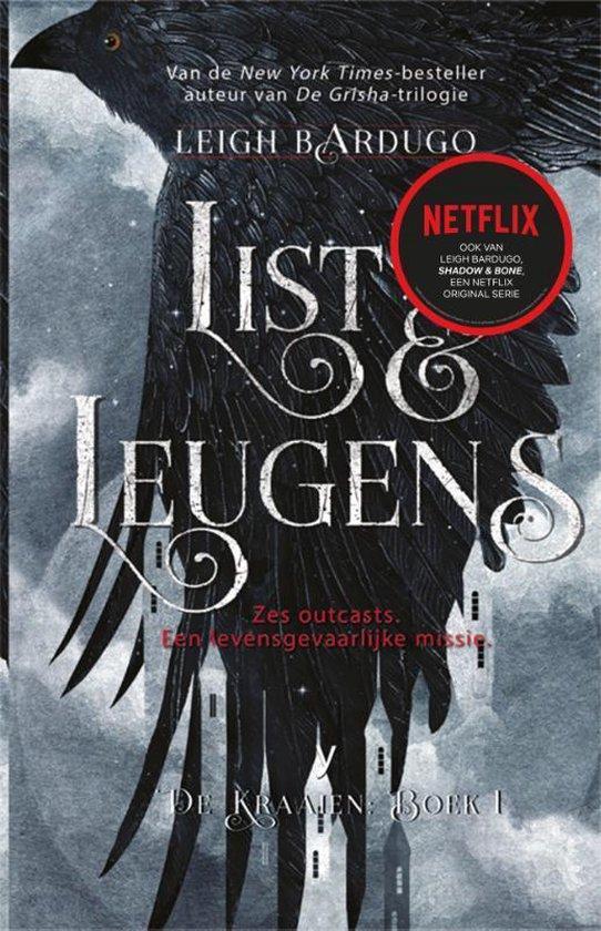 Boek cover De Kraaien 1. List en leugens van Leigh Bardugo (Hardcover)