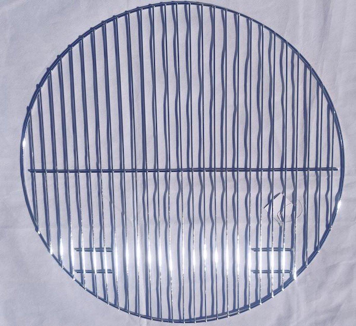 Jemati Grill rooster roestvrij staal 54,5 cm doorsneede - BBQ Rooster - Kolen BBQ - Barbecue RVS verchroomd -