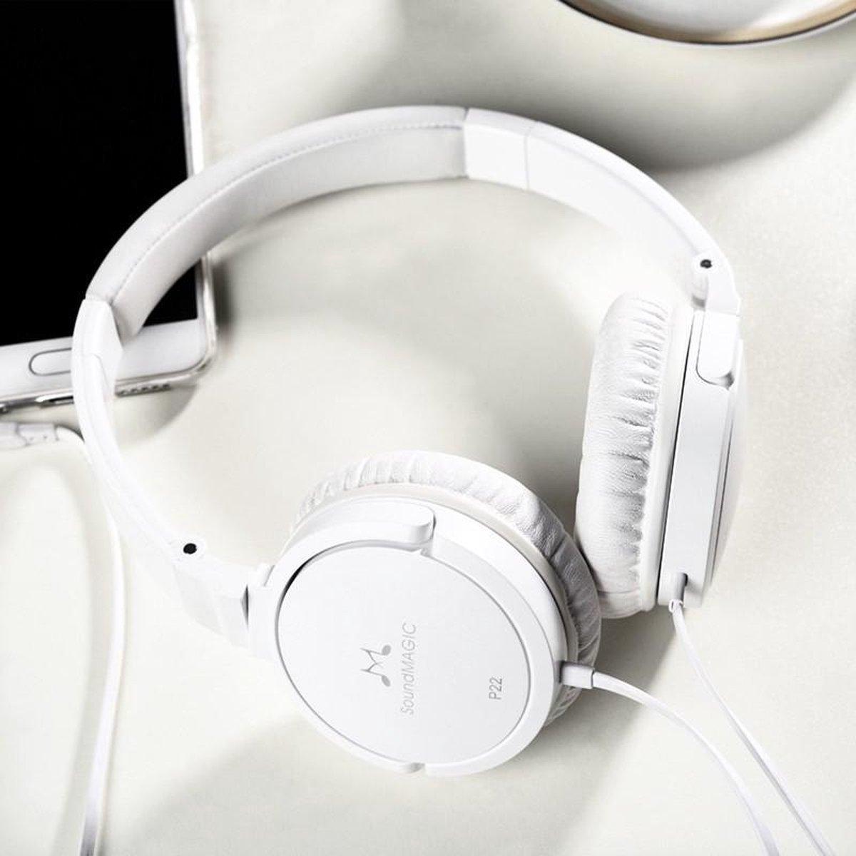 Soundmagic P22 koptelefoon - Wit