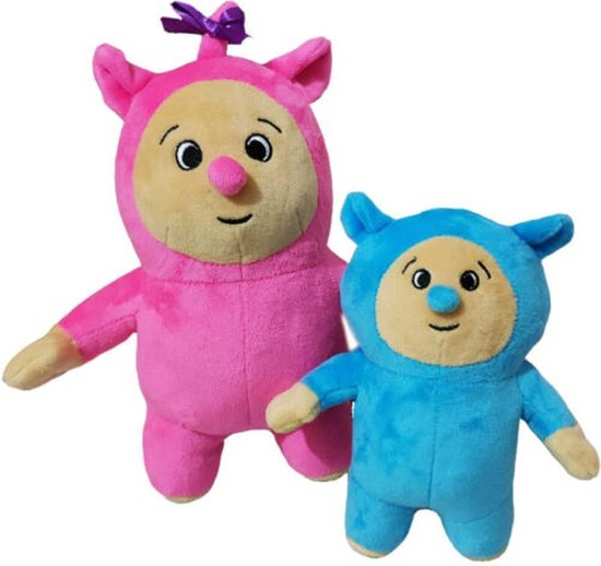 Billy en Bambam - Knuffel - Babytv - Pluche - Speelgoed - Billy - Bam bam