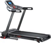 Loopband - Focus Fitness Jet 7 - Incl. Tablethouder - Inklapbaar/Opklapbaar - Fitnessapparaat - 1-18 km/u - Bevat 36 trainingsprogramma's - Hardloopband voor thuis - Zwart