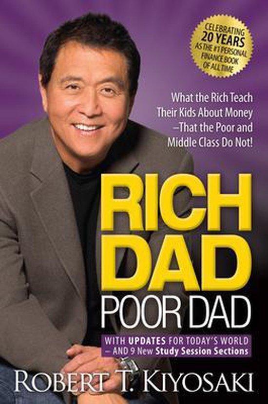 Boek cover Rich Dad Poor Dad - voor kerst binnen van Robert Kiyosaki (Paperback)