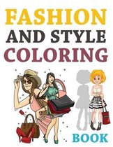 Fashion And Style Coloring Book
