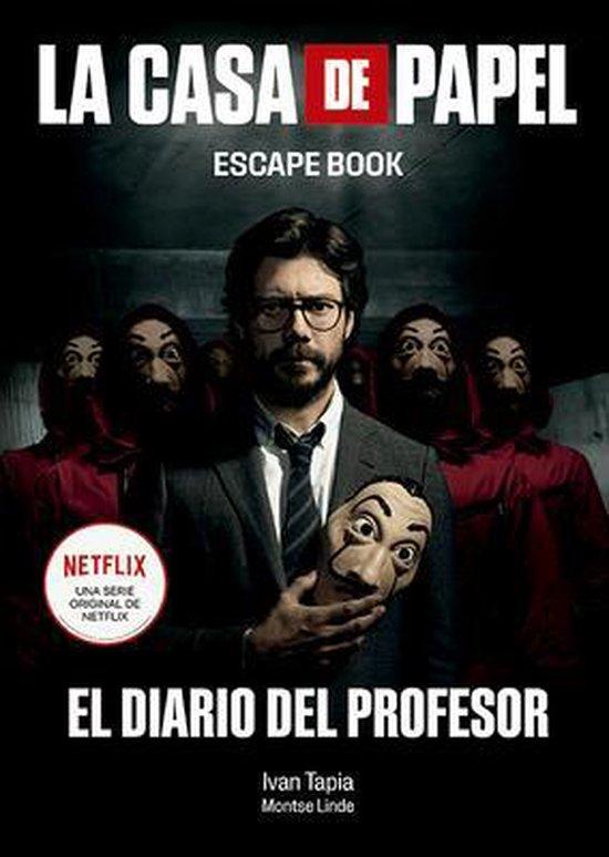 Boek cover La Casa de Papel. Escape Book: El Diario del Profesor van Ivan Tapia (Paperback)