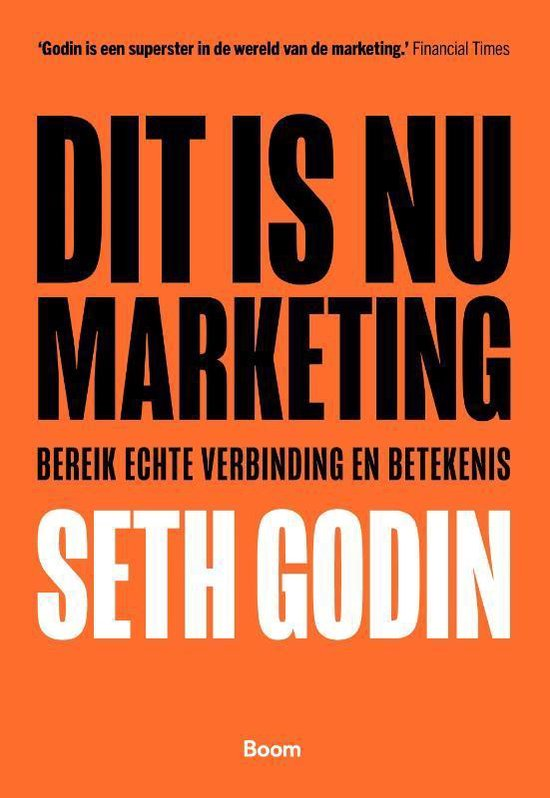 Boek cover Dit is nu marketing van Seth Godin (Paperback)