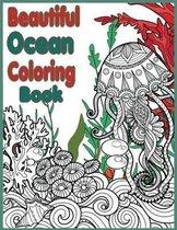 Beautiful Ocean Coloring Book