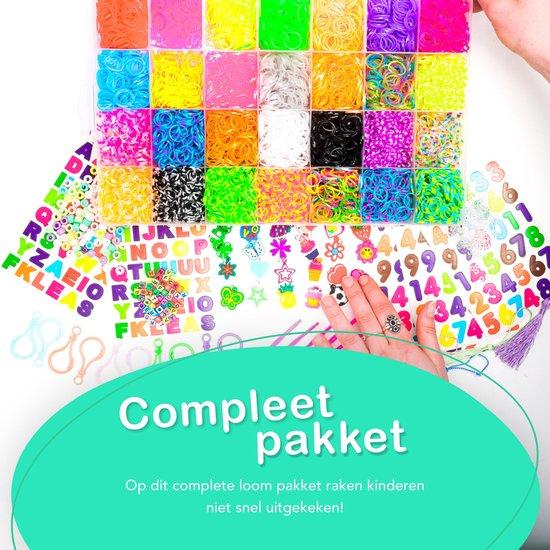 No limit lifestyle 11500 delig loombandjes set – 11000 + 500 gratis - Loom - Loom Elastiekjes - Loombandjes Starterspakket - Loom Pakket - Compleet pakket