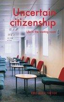 Omslag Uncertain citizenship