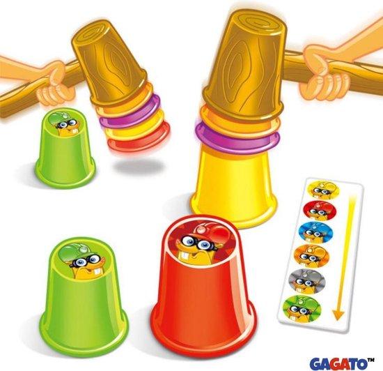 Thumbnail van een extra afbeelding van het spel Stack-A-Mole Game - Spelletjes voor Kinderen - Stapelspel op Tijd - Educatief Kinderspeelgoed - Bordspel - Spellen