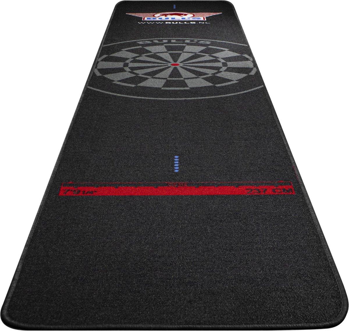Bulls Carpet Dartmat 300 x 65cm zwart