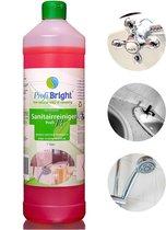 ProfiBright - Consument - Sanitairreiniger Profi13 - Badkamerreiniger - Concentraat - Dierproefvrij - 1 liter