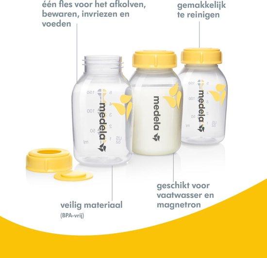 Medela Moedermelkflesje - 150 ml - 3 Stuks