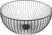 Point-Virgule - Wire - Fruitschaal - Fruitmand - Metaal - zwart ø 30cm H 13cm
